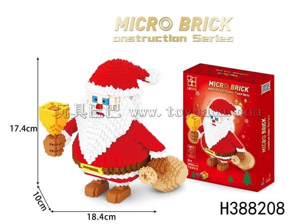 Big Santa building blocks 2500pcs