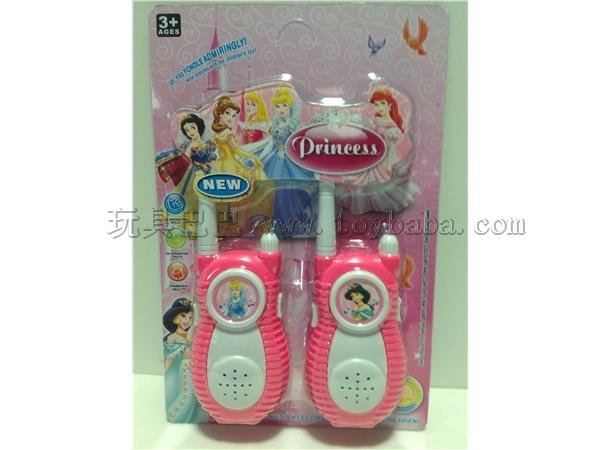 Disney Princess walkie talkie