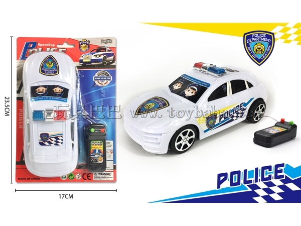 Police car by wire