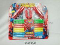 蜘蛛侠呼啦圈+跳绳 2合1套装  体育玩具