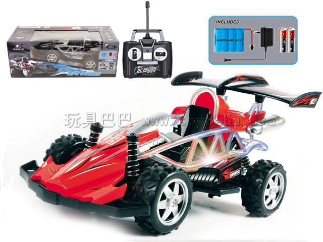 1:16 四通高速遥控车1:16包电池