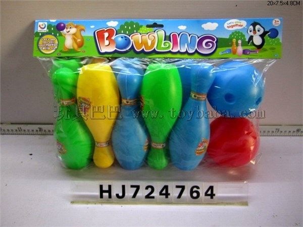 Color Bowling