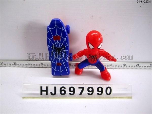 Pull slide spider