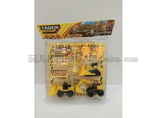 Engineering vehicle set (2 models)
