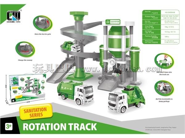 Spiral track - sanitation series
