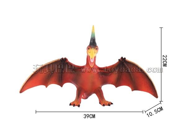 Enamel dinosaur pterosaur (with IC) (mixed loading)