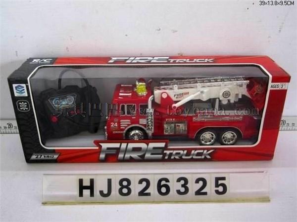 Four way fire truck