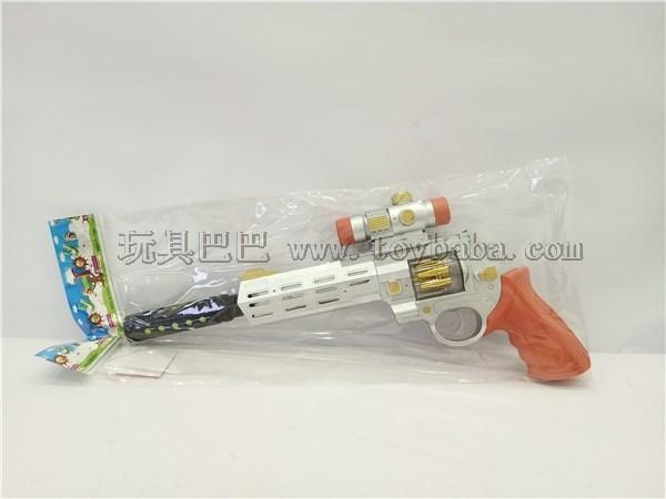 Spray painted left wheel electric flash gun