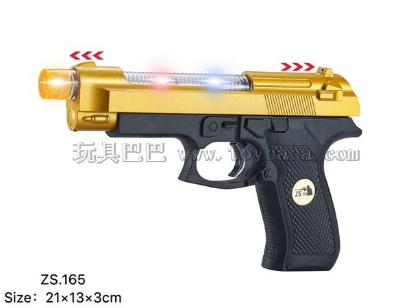 Golden Desert Eagle shotgun