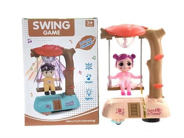 Happy swing (sitting)
