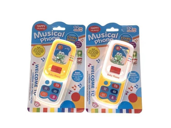 Slide camera light music mobile phone 2-color mixed package