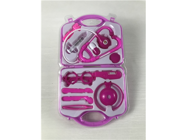 Pink high frequency medical set