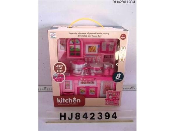 Kitchen toys Pink (light music)