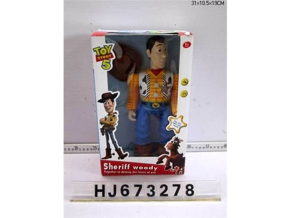 New electric toy story light music box