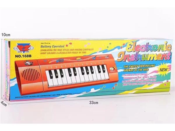 Electronic organ English Version (red)