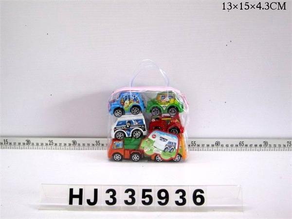 6 Huili cartoon cars