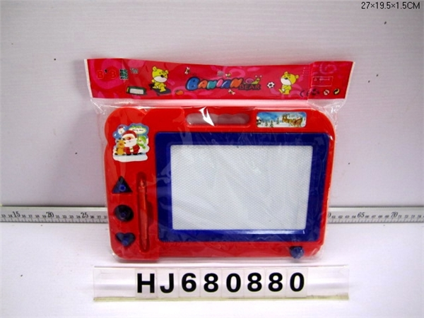 Santa magnetic tablet with 3 seals