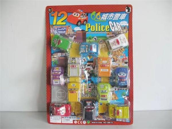 12 Huili cartoon police cars