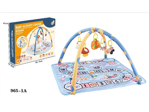 Baby carpet fitness stand with Plastic Bell and music box