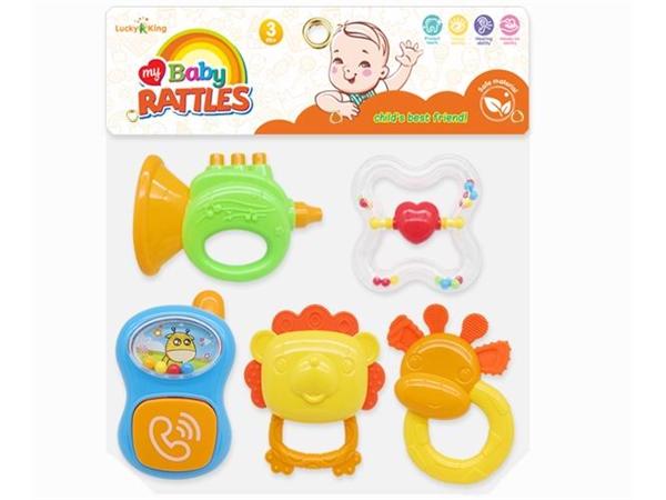 Baby rattle (5-piece set)