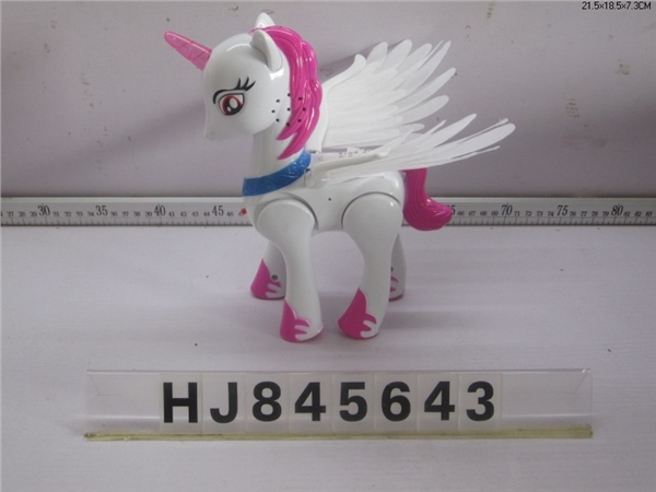Electric horse with wings light music