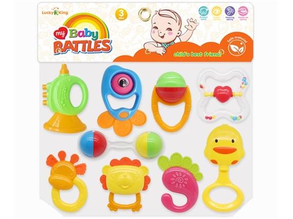 Baby rattle (9-piece set)