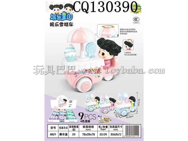 9 inertia Nile ice cream cars