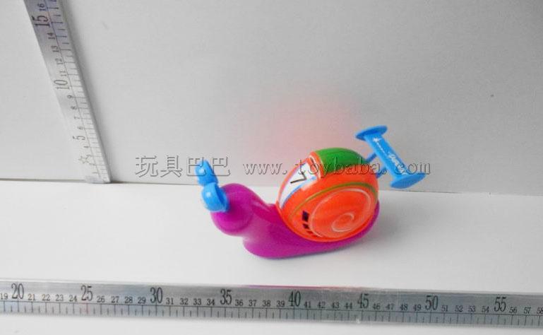 Cartoon inertia speed snails