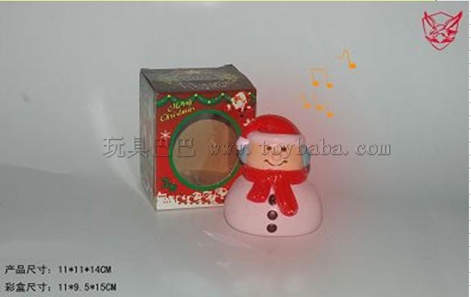 Acoustic Christmas snowman