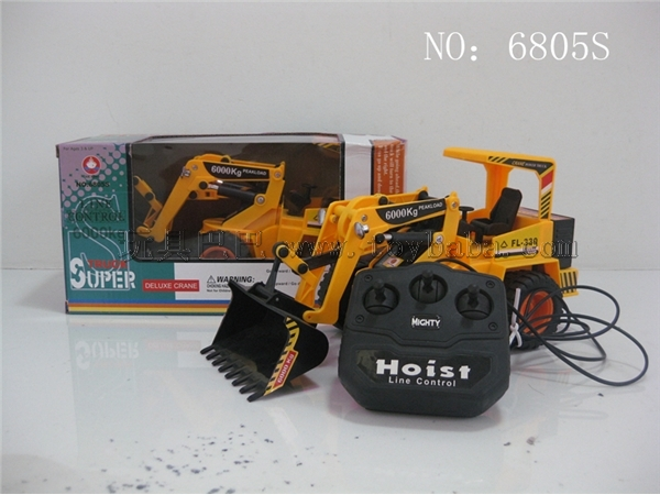 Drive-by-wire bulldozer
