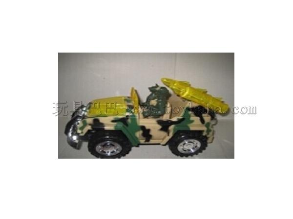 The wild fighting vehicle