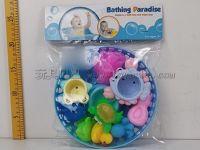 宝宝戏水套装 海底世界动物图形