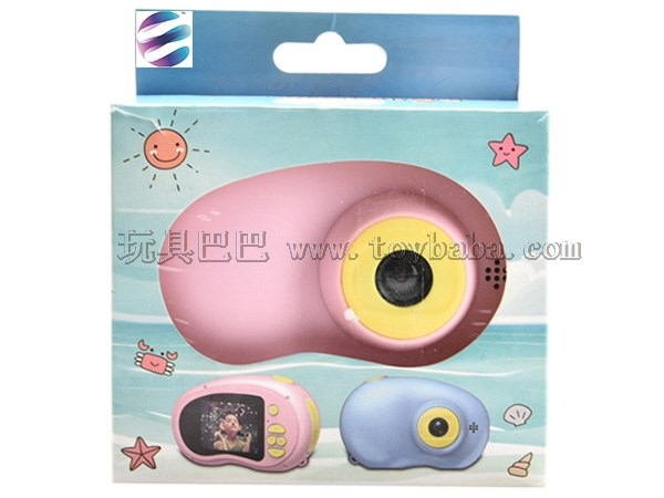 Children's camera red and blue mixed educational intelligent camera toy