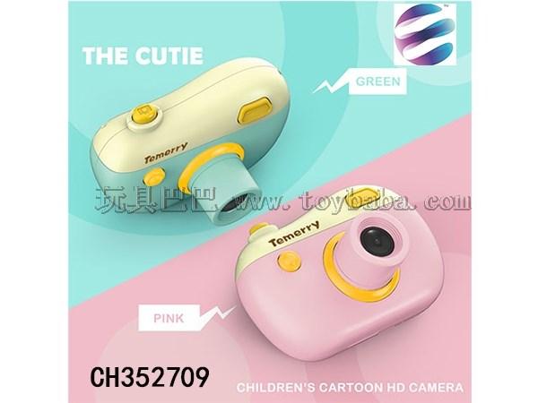 Xiaomeng children's HD cartoon camera 12 million English packaging 2-color mixed packaging