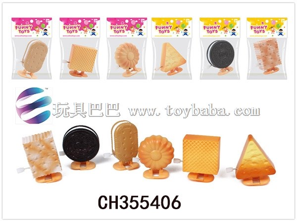 Six chain biscuit simulation biscuit model toys fun toys