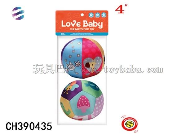 4-inch football Set Toy 6-Piece pattern plus 12 piece pattern football toy