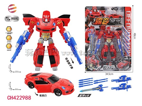 Intellectual development of Transformers toys