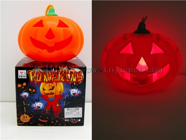 The ghost is called flash pumpkin
