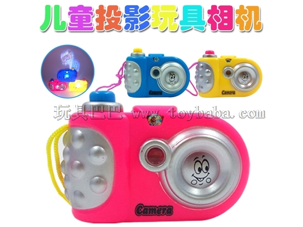 Cartoon light projection camera luminous camera toys children's educational toys hot selling toy manufacturers direct sa