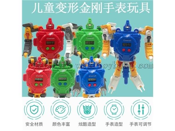 Children's electronic watch deformation Watch