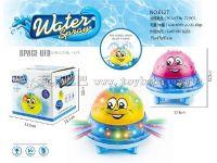 电动戏水水球水陆两用水球带灯光音乐 玩具巴巴6127 电动玩具