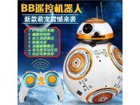 星球大战觉醒原力BB8智能遥控机器人玩具跳舞旋转带灯光音乐