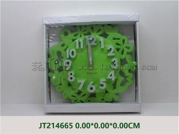 Butterfly stereo digital wall clock