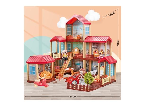 Children's house Doll House Princess Castle Suite Villa House