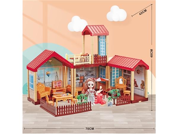 Children's house girl Little Princess Castle villa toy set