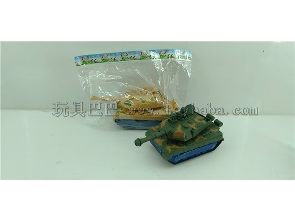 Electric simulation tank toy