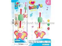 14寸蝴蝶风铃床挂 婴儿玩具/毛绒玩具
