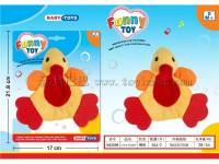 6寸布艺牙咬鸭子 婴儿玩具/毛绒玩具