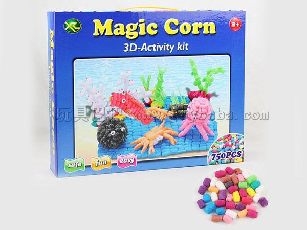 Magic corn blocks