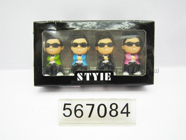 7 cm key figures (jiangnan style) 4 PCS